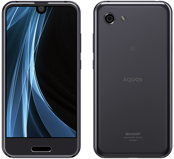 AQUOS R compact SH-M06 Black
