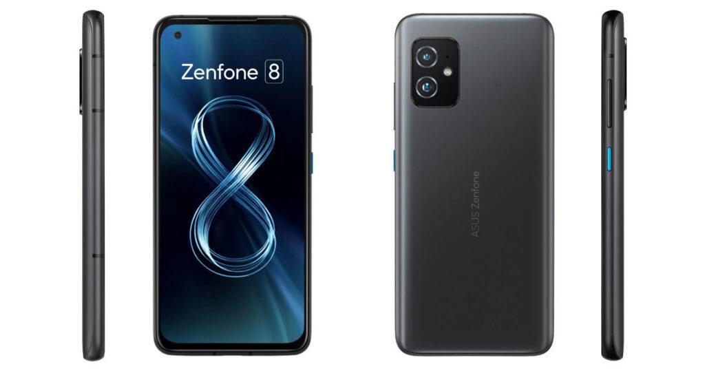 Zenfone 8のブラック