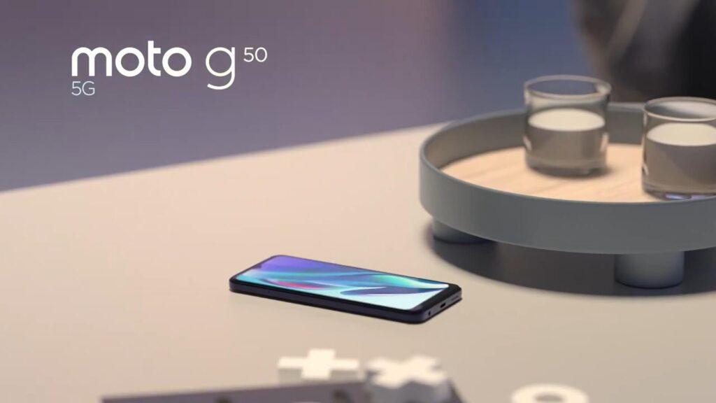 Androidスマートフォン moto g50 5G